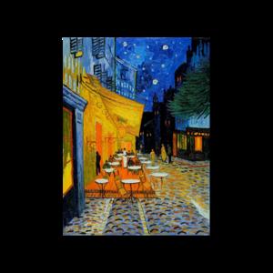 빈센트 반고흐 밤의 카페 테라스 그림화환 결혼식축하화환